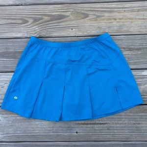 Bolle Turquoise high performance athletic skirt